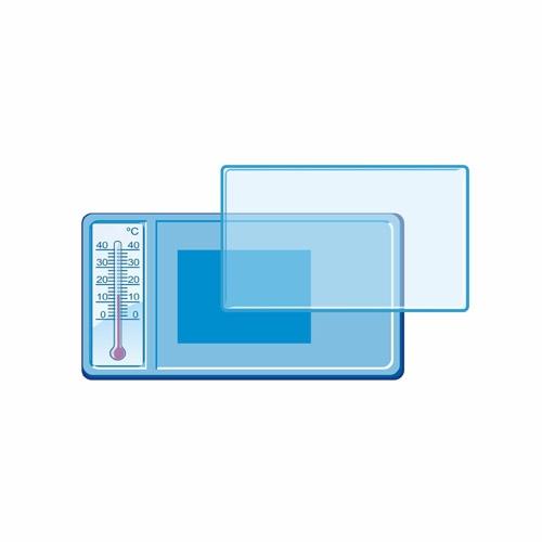 Акриловый магнит с термометром